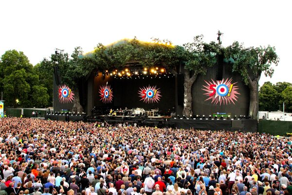 кадры и фото из фильма The Who: Концерт в Гайд-парке