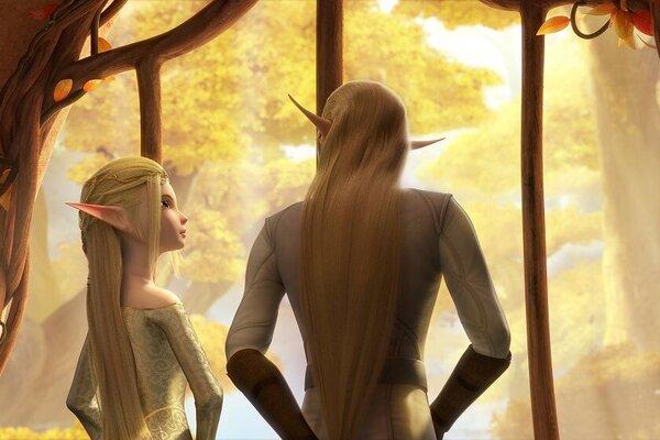 кадры и фото из фильма Трон эльфов