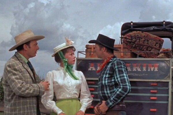 кадры и фото из фильма Оклахома!