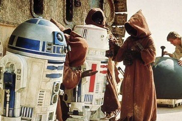 кадры и фото из фильма Звездные войны: Эпизод IV - Новая надежда