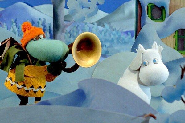 кадры и фото из фильма Муми-тролли. Зимняя сказка
