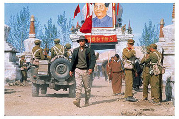кадры и фото из фильма Семь лет в Тибете