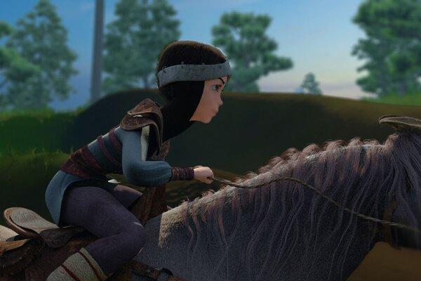 кадры и фото из фильма Богатырша
