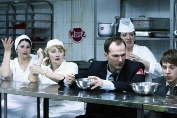 кадры и фото из фильма Парень с шоколадной фабрики
