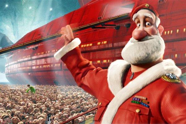 кадры и фото из фильма Секретная служба Санта Клауса 3D