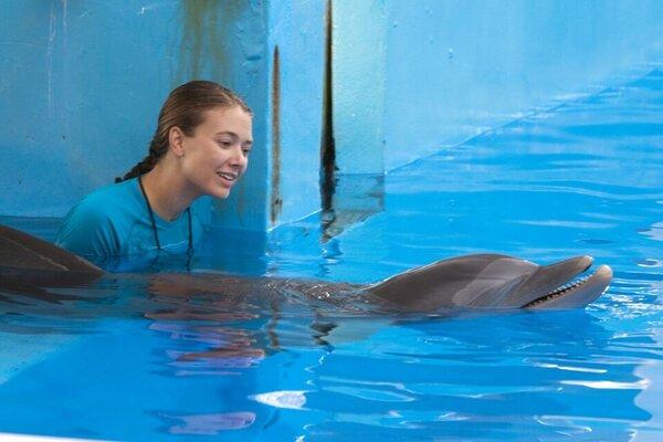 кадры и фото из фильма История дельфина