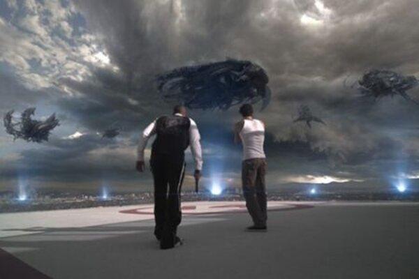 кадры и фото из фильма Скайлайн