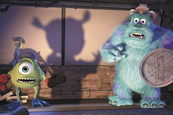 кадры и фото из фильма Корпорация Монстров 3D