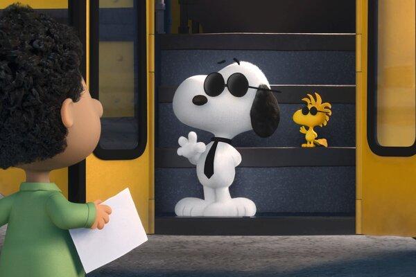 кадры и фото из фильма Снупи и мелочь пузатая в кино