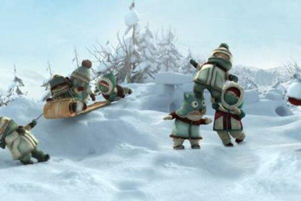 кадры и фото из фильма Снежная битва 3D