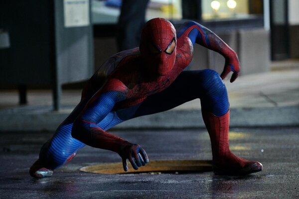 кадры и фото из фильма Новый Человек-паук 3D