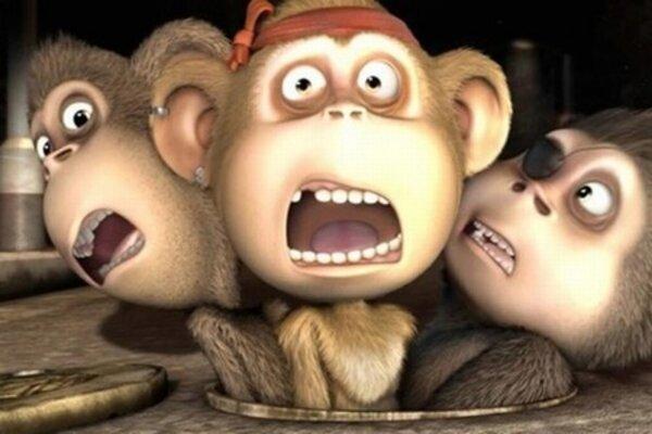кадры и фото из фильма Братва из джунглей 3D