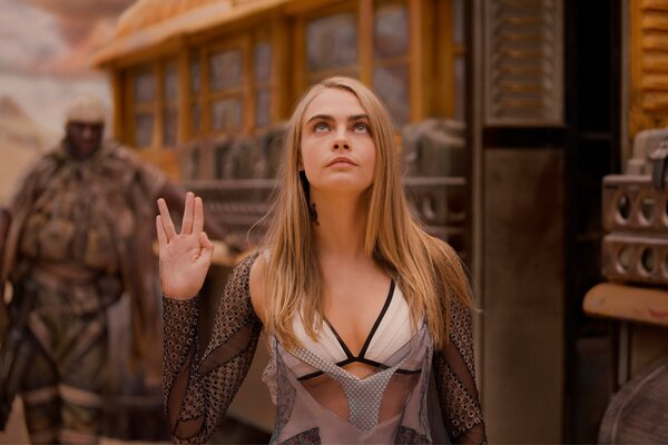 кадры и фото из фильма Валериан и город тысячи планет