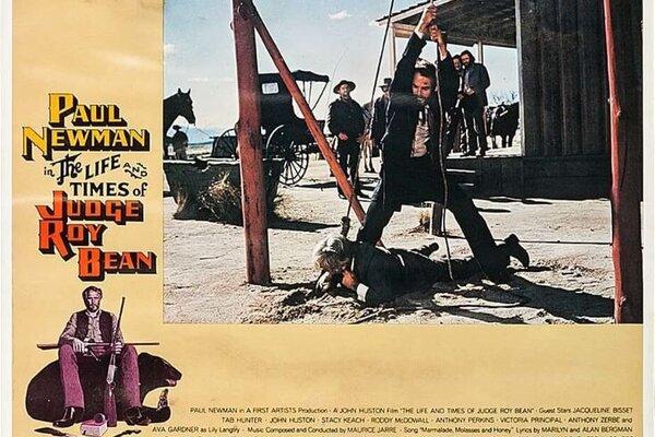 кадры и фото из фильма Жизнь и времена судьи Роя Бина