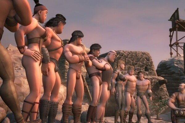 кадры и фото из фильма Ронал-варвар 3D