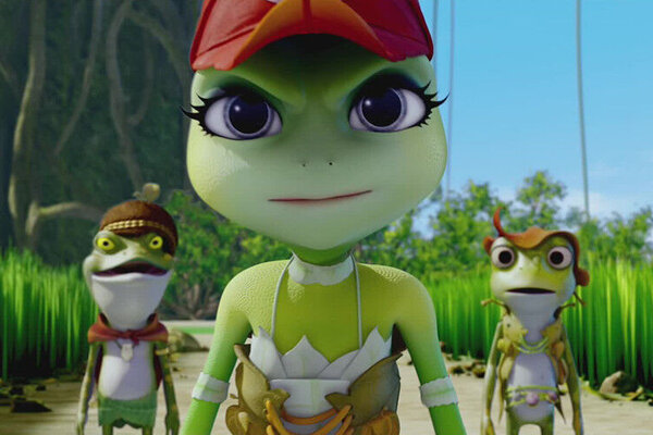 кадры и фото из фильма Принцесса-лягушка: Тайна волшебной комнаты