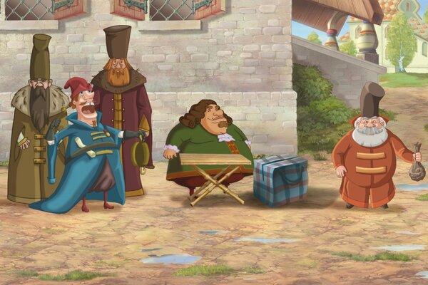 кадры и фото из фильма Три богатыря на дальних берегах 3D