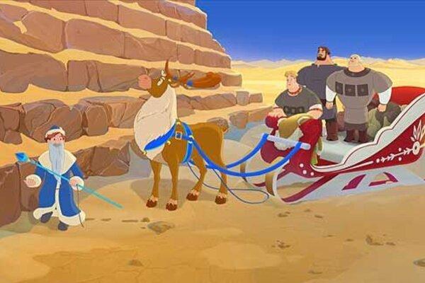 кадры и фото из фильма Три богатыря и принцесса Египта