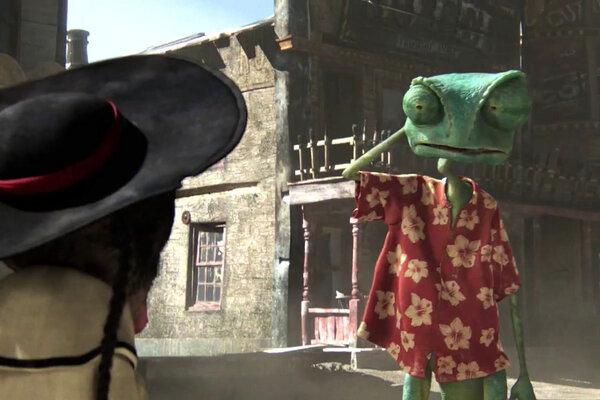 кадры и фото из фильма Ранго 3D