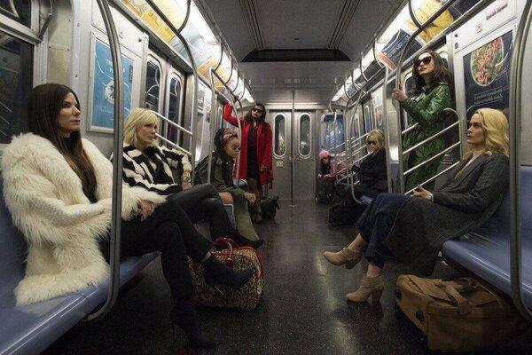 кадры и фото из фильма Восемь подруг Оушена