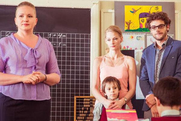 кадры и фото из фильма Дневник мамы первоклассника