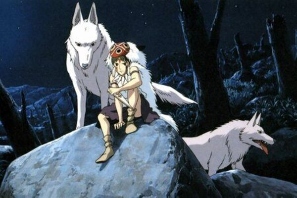 кадры и фото из фильма Принцесса Мононоке