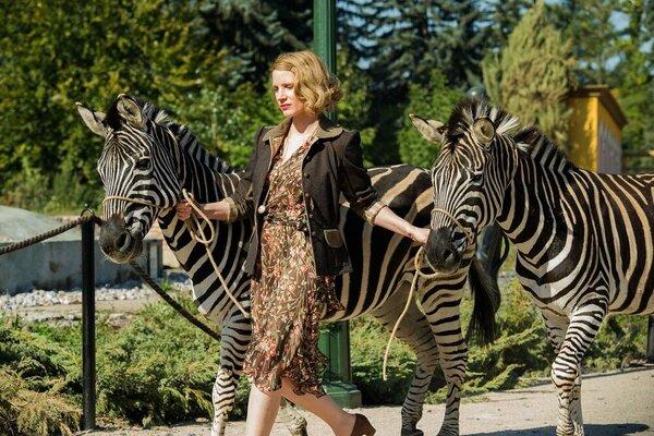 кадры и фото из фильма Жена смотрителя зоопарка