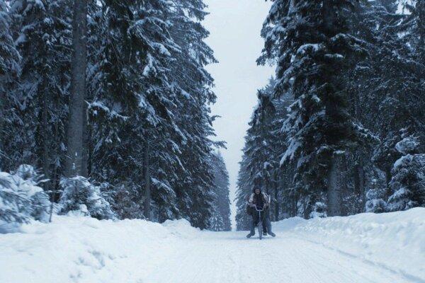 кадры и фото из фильма Снежная страна