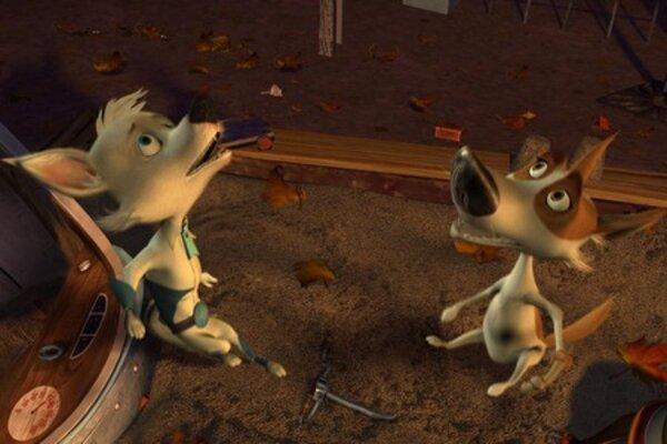 кадры и фото из фильма Звездные собаки: Белка и Стрелка 3D