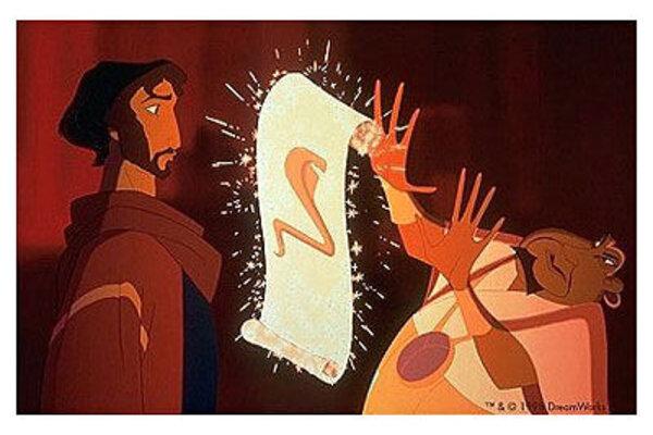 кадры и фото из фильма Принц Египта