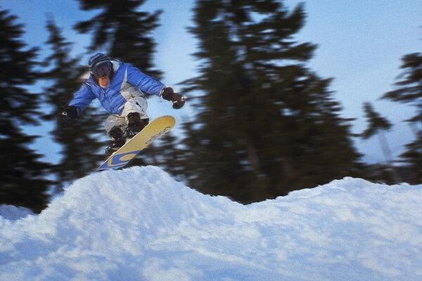 кадры и фото из фильма Король сноуборда