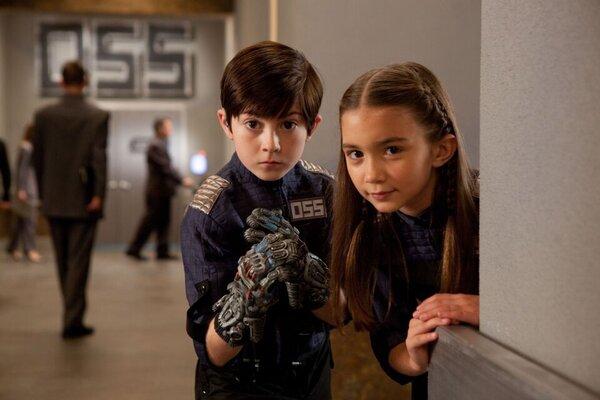кадры и фото из фильма Дети шпионов в 4D