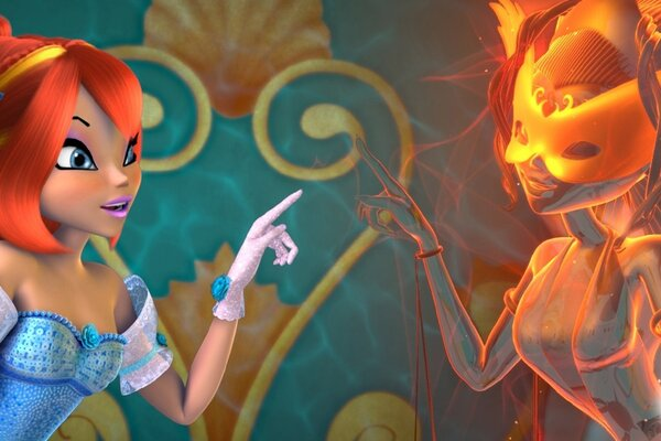 кадры и фото из фильма Winx Club 3D: Волшебные приключения