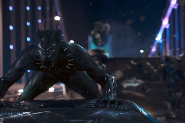 кадры и фото из фильма Черная Пантера