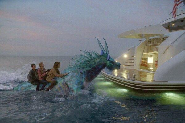 кадры и фото из фильма Перси Джексон и море чудовищ