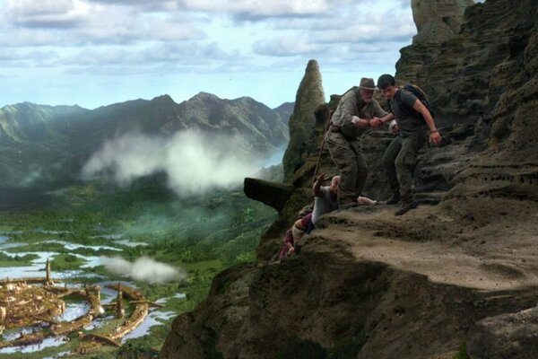 кадры и фото из фильма Путешествие 2: Таинственный остров