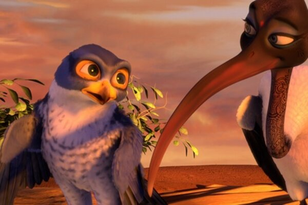 кадры и фото из фильма Замбезия 3D