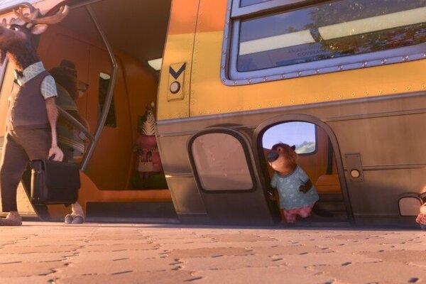 кадры и фото из фильма Зверополис