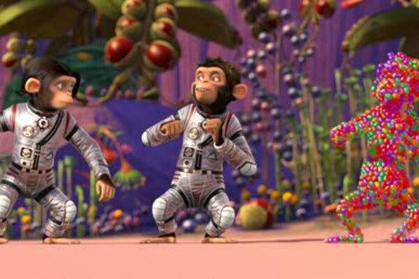 кадры и фото из фильма Мартышки в космосе