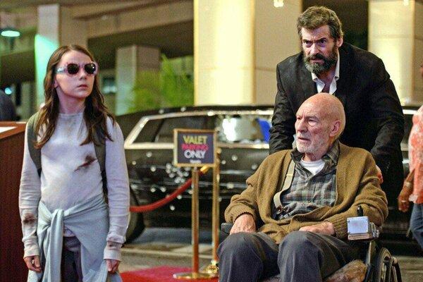 кадры и фото из фильма Логан