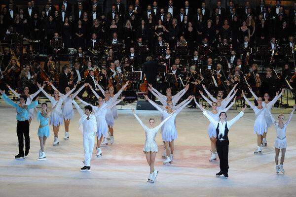 кадры и фото из фильма Опера на льду