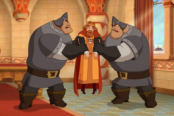 кадры и фото из фильма Три богатыря. Ход конем
