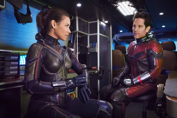 кадры и фото из фильма Человек-муравей и Оса