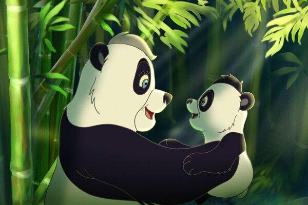 кадры и фото из фильма Смелый большой Панда 3D