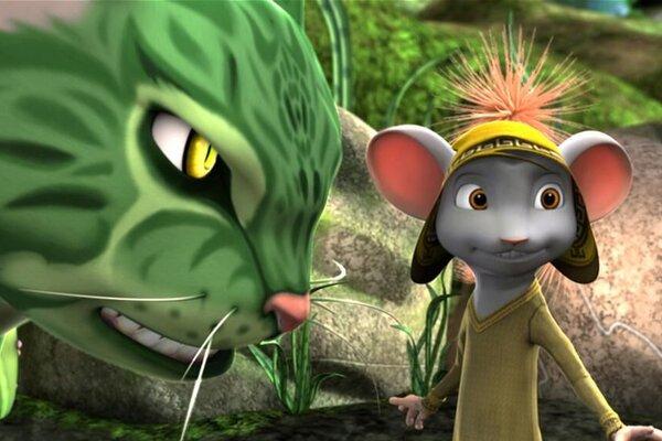 кадры и фото из фильма Приключения мышонка