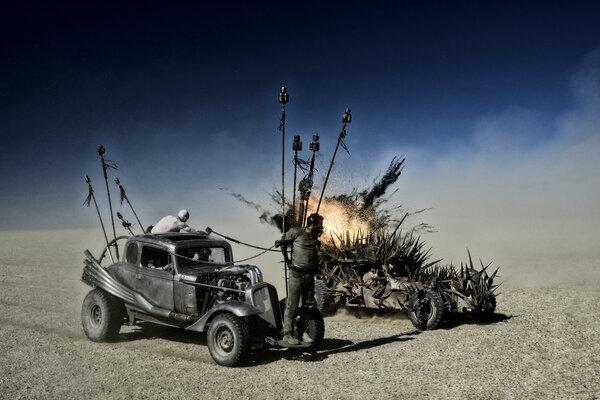 кадры и фото из фильма Безумный Макс: Дорога ярости 3D