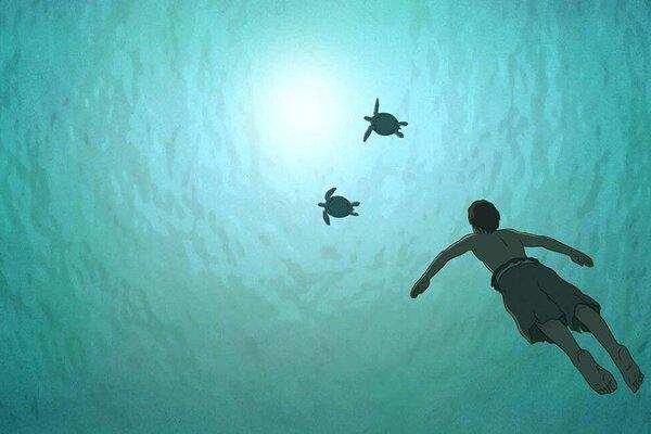 кадры и фото из фильма Красная черепаха