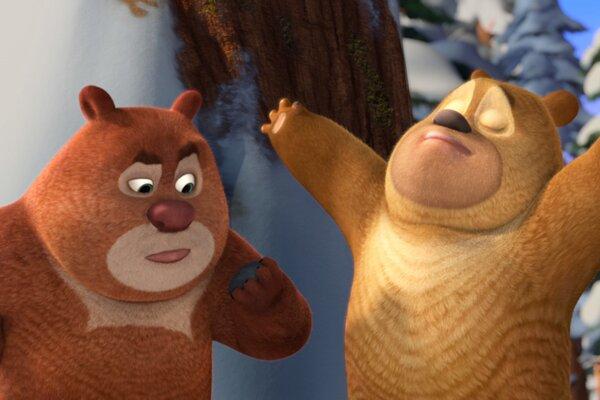 кадры и фото из фильма Медведи Буни: Таинственная зима 3D