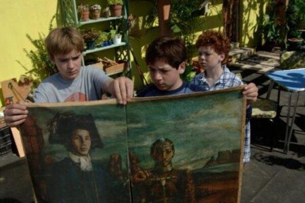 кадры и фото из фильма Три сыщика: Тайна Острова скелетов