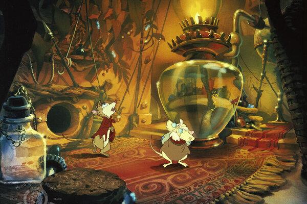 кадры и фото из фильма Секрет Н.И.М.Х.